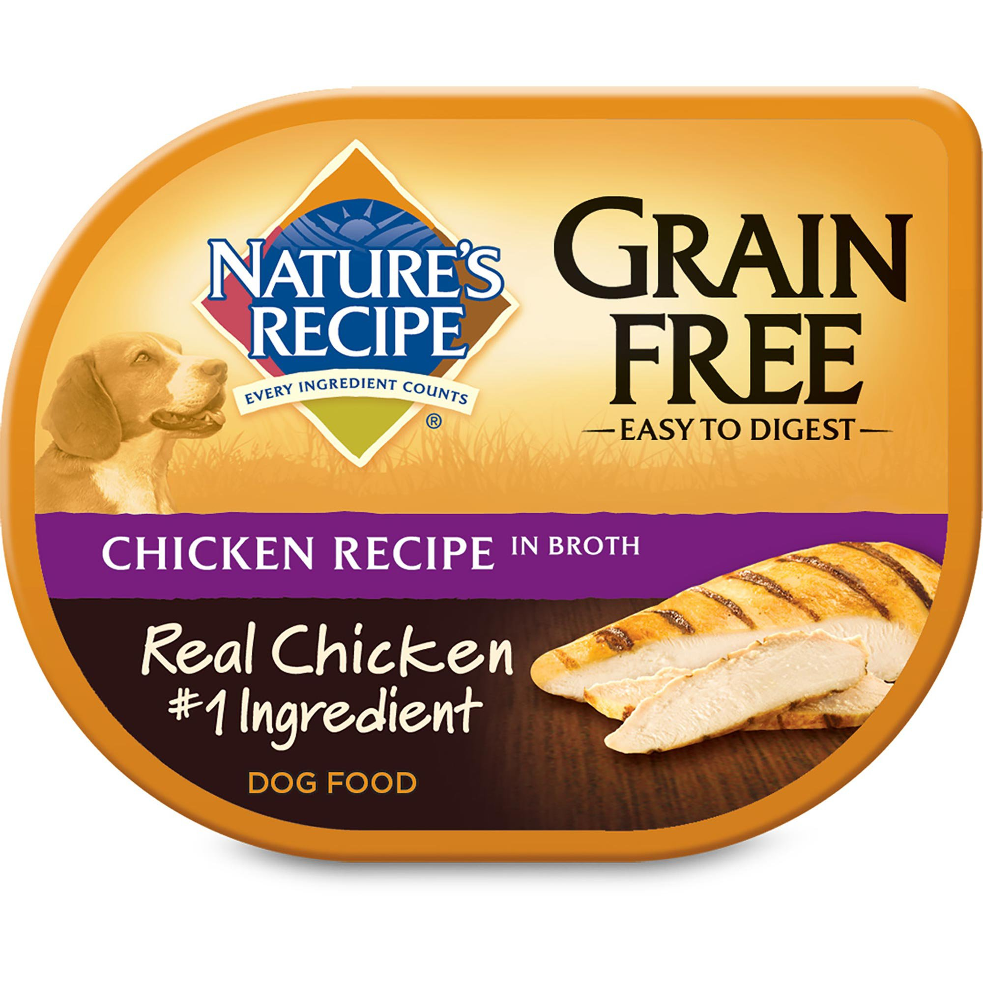 Natures Recipe Grain Free Wet Dog Food