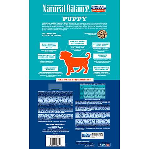 Natural Balance Original Ultra Whole Body Health Chicken Brown Rice