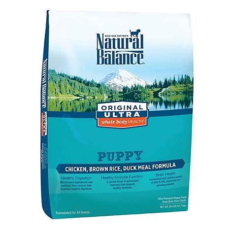 Natural Balance Original Ultra Whole Body Health Chicken, Brown Rice & Duck Meal Puppy Food