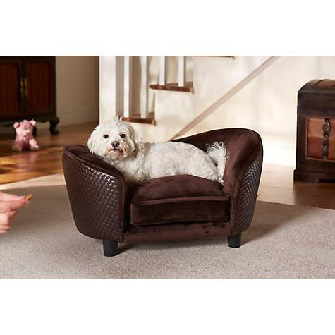 Enchanted Brown Ultra Plush Snuggle Bed