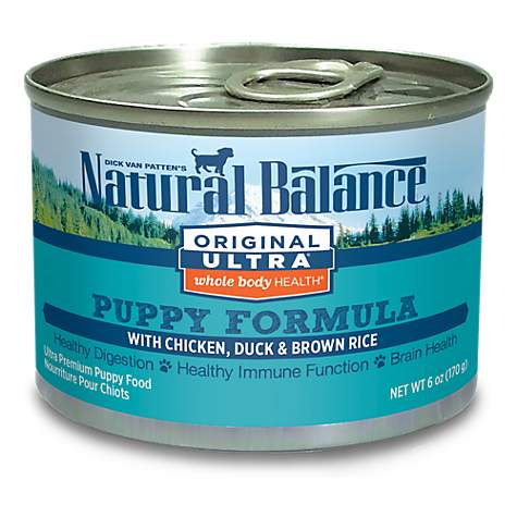 Natural Balance Original Ultra Chicken Duck Brown Rice Canned