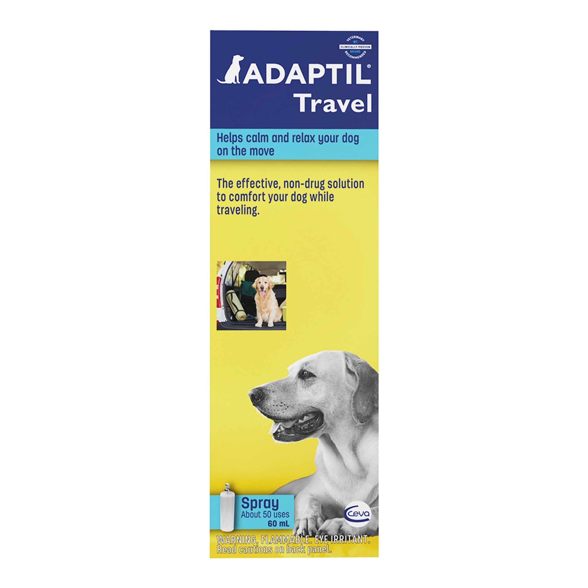 Adaptil Calming Spray for Dogs, 60 Milliliter | Petco