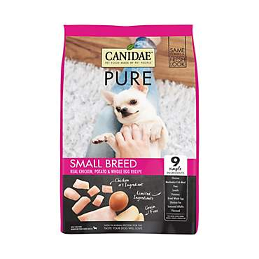 CANIDAE PURE Small Breed Real Chicken, Potato & Whole Egg Recipe Dry Dog Food