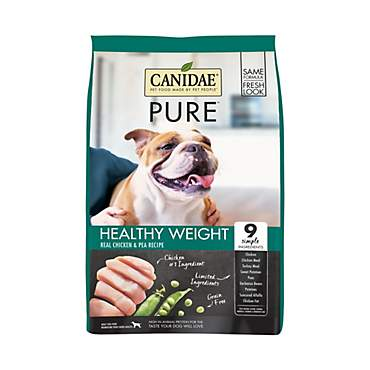 CANIDAE PURE Healthy Weight Real Chicken & Pea Recipe Dry Dog Food