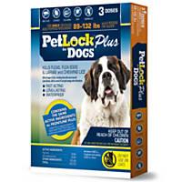 PetLock Plus Dog Flea Treatment for Dogs 89 to 132 lbs.