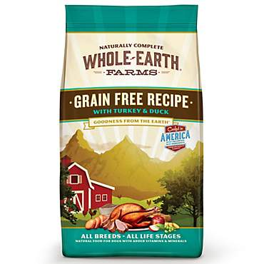 Whole Earth Farms Grain Free Recipe with Turkey & Duck Dry Dog Food