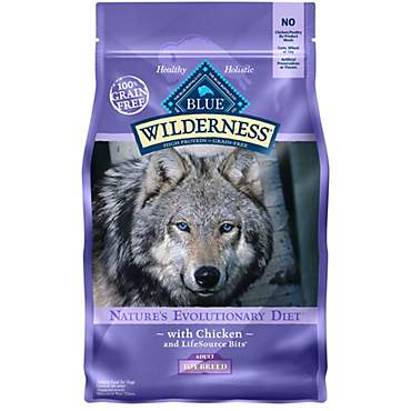 Blue Buffalo Blue Wilderness Grain Free Chicken Toy Breed Adult Dog Food