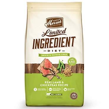 Merrick Grain Free Limited Ingredient Diet Lamb Dry Dog Food Petco
