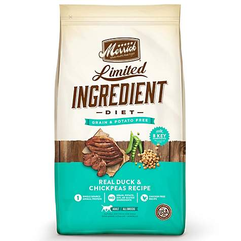 Merrick Grain Free Limited Ingredient Diet Duck Dry Dog Food