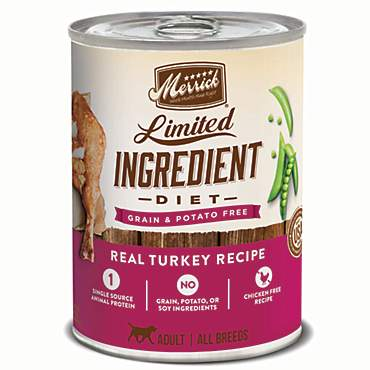 Merrick Limited Ingredient Diet Grain Free Real Turkey Canned Dog Food