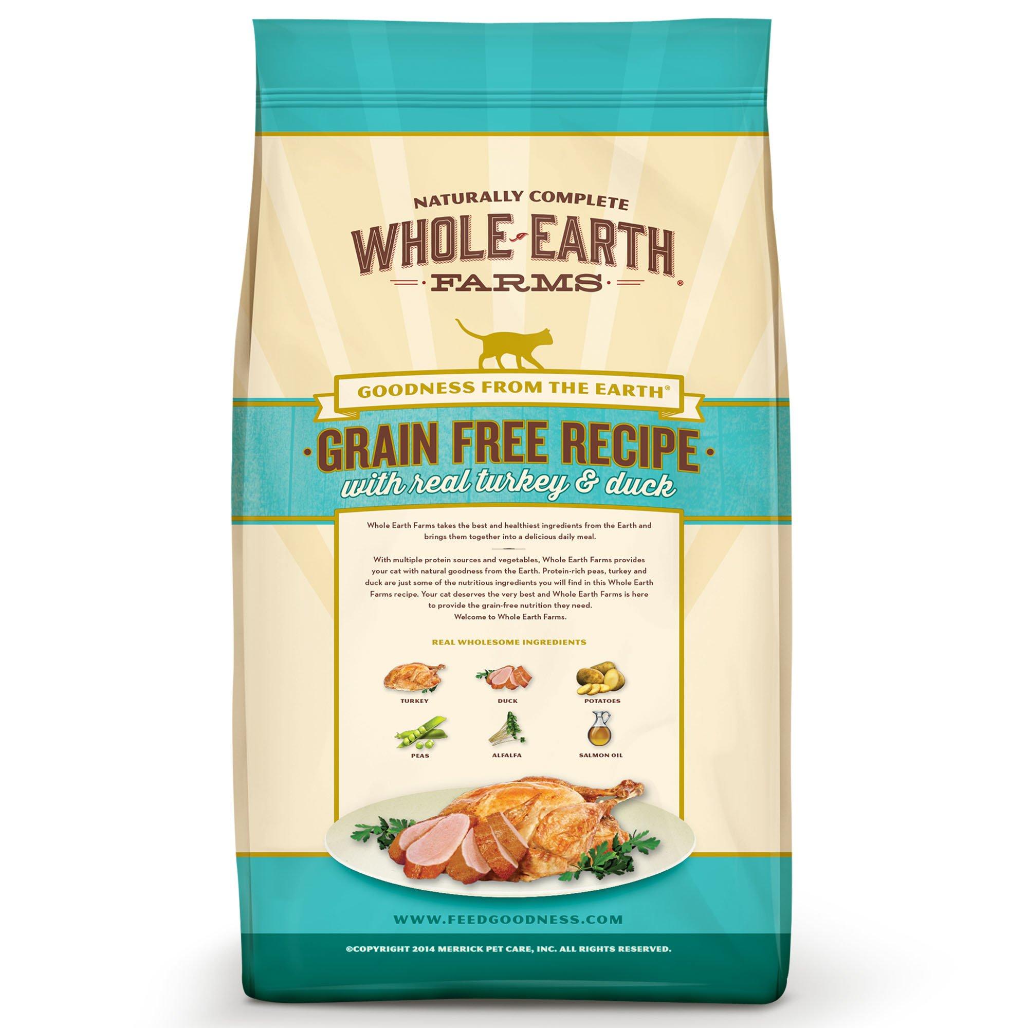 Whole-Earth-Farms-Grain-Free-Real-Turkey-amp-Duck-Cat-Food thumbnail 3