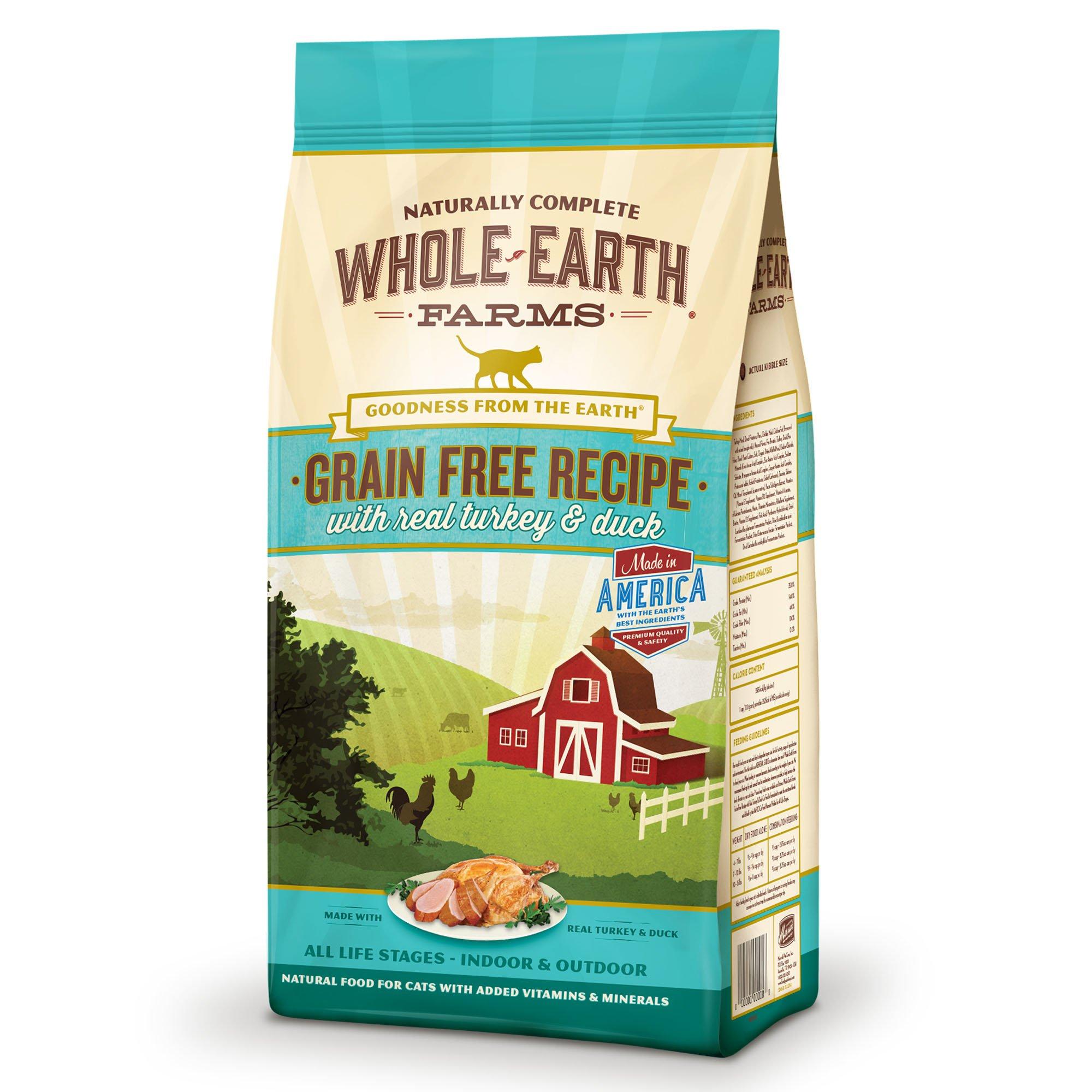 Whole-Earth-Farms-Grain-Free-Real-Turkey-amp-Duck-Cat-Food thumbnail 8