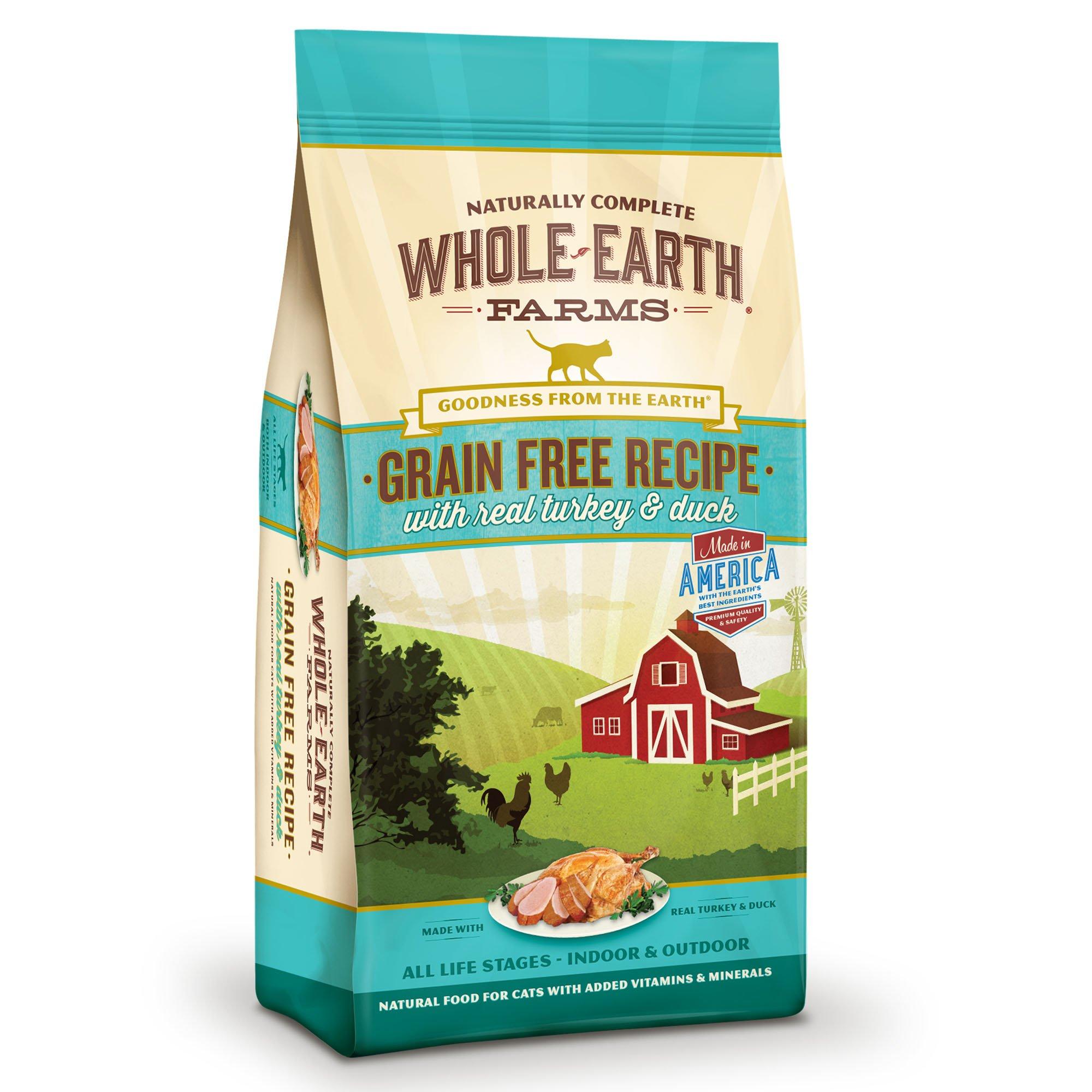 Whole-Earth-Farms-Grain-Free-Real-Turkey-amp-Duck-Cat-Food thumbnail 14