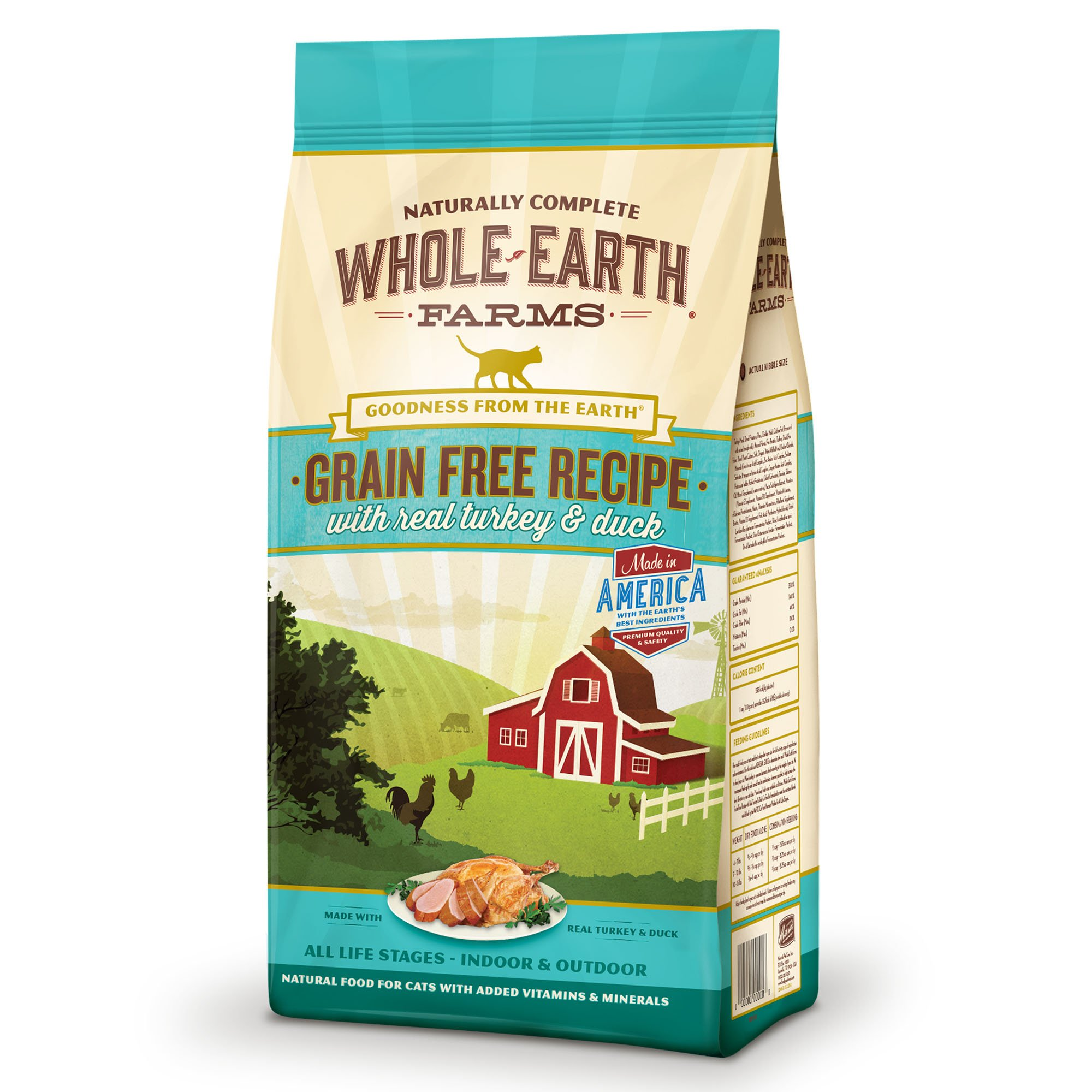Whole-Earth-Farms-Grain-Free-Real-Turkey-amp-Duck-Cat-Food thumbnail 15