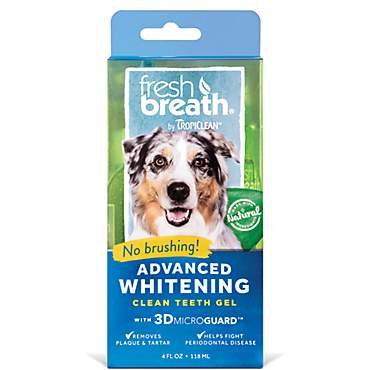 TropiClean Fresh Breath Advanced Whitening Gel