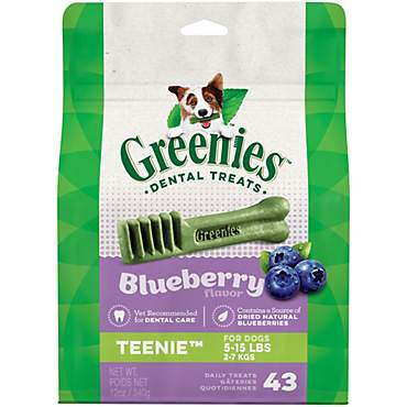 Greenies Blueberry Flavor Teenie Dog Dental Chews