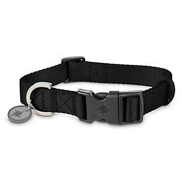 Good2Go Adjustable Black Nylon Dog Collar
