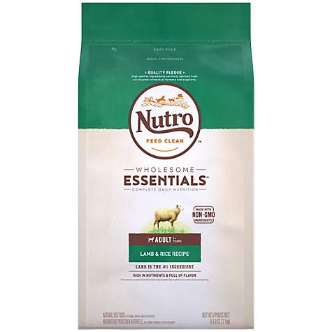 Nutro Wholesome Essentials Pasture-Fed Lamb & Rice Recipe Dry Adult Dog Food