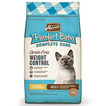 Merrick Purrfect Bistro Grain Free Healthy Weight Adult Dry Cat Food