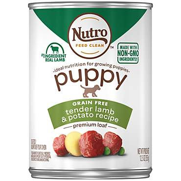 Nutro Puppy Premium Loaf Tender Lamb & Potato Recipe Wet Puppy Food