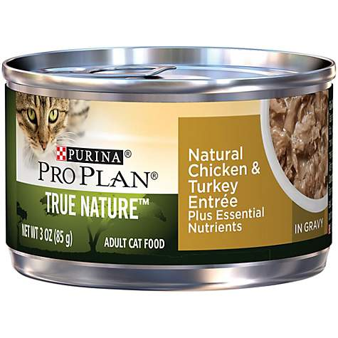 Pro Plan True Nature Chicken & Turkey Adult Canned Cat Food