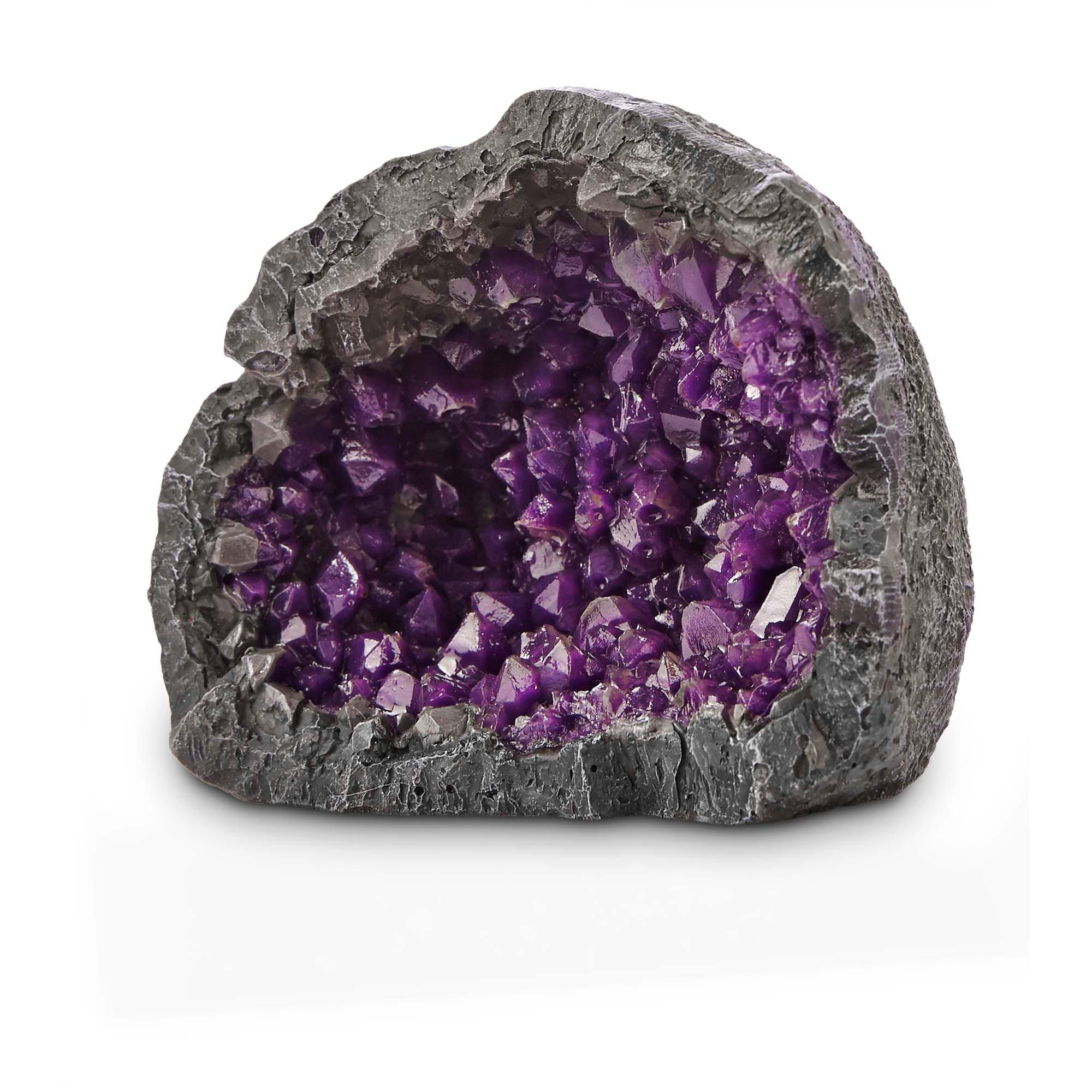 Imagitarium Purple Geode Aquarium Decor Petco
