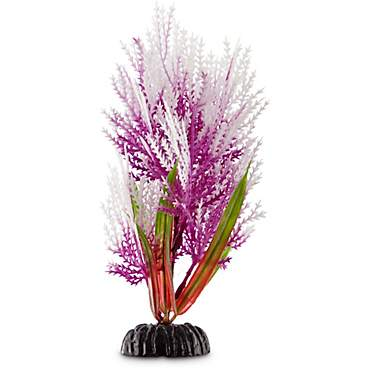 Imagitarium Purple Hairgrass Foreground Plastic Aquarium Plant