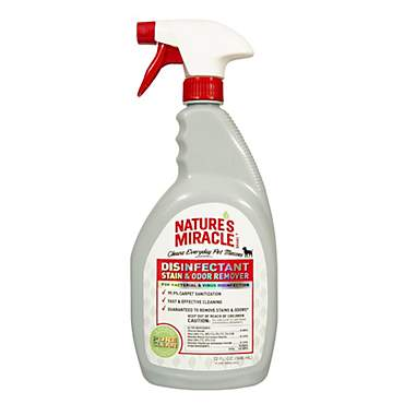 Nature's Miracle Disinfectant Stain & Odor Remover Spray