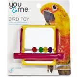 You & Me Mirrored Bead Bird Toy
