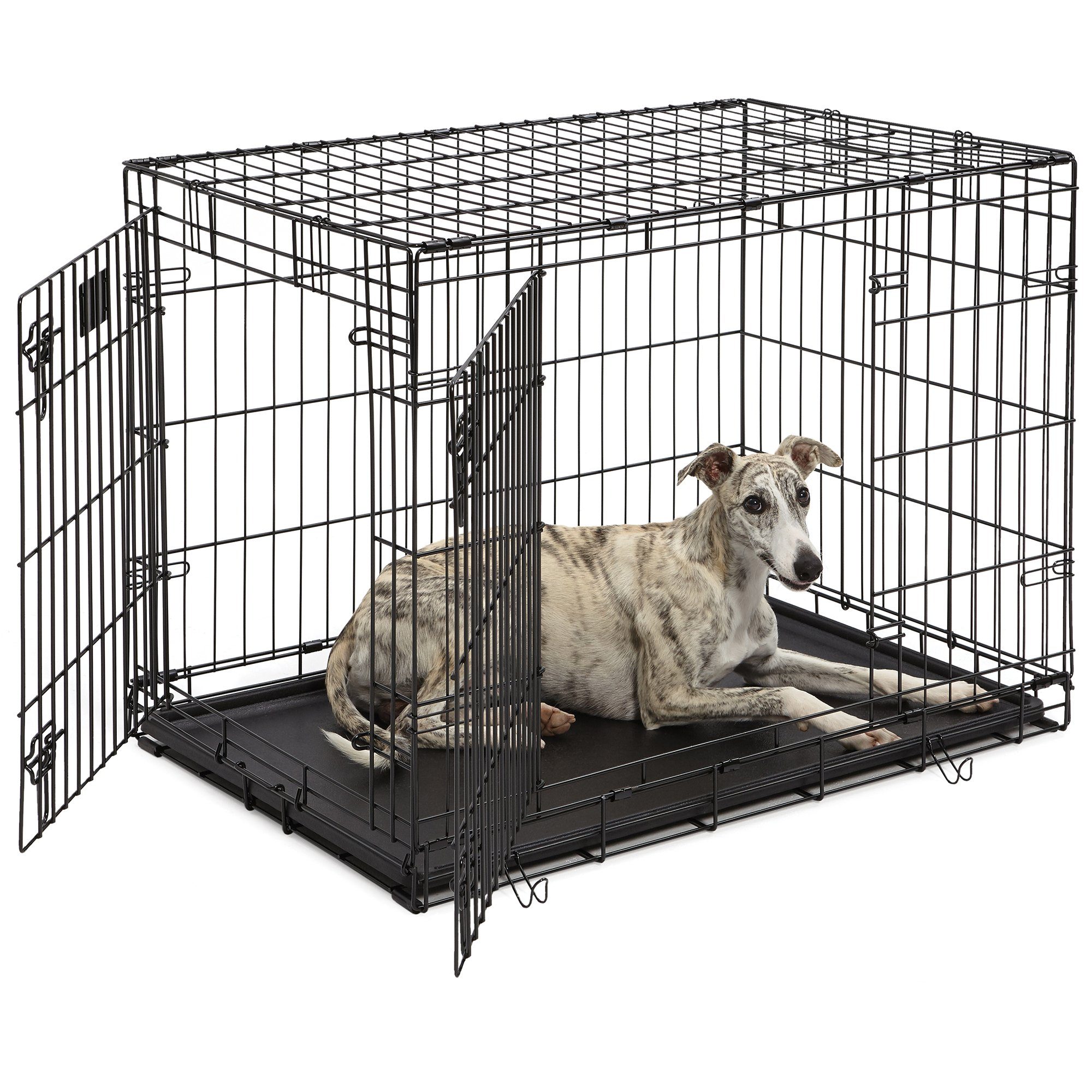 Midwest Lifestages Double Door Fold Carry Crates Petco