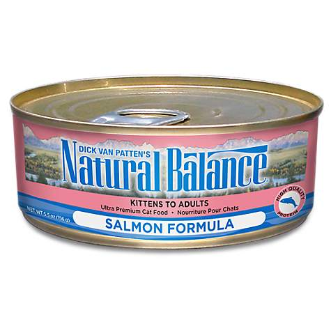 Natural Balance Ultra Premium Salmon Wet Cat Food