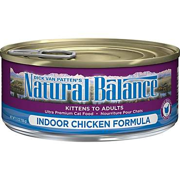 Natural Balance Ultra Premium Indoor Wet Cat Food