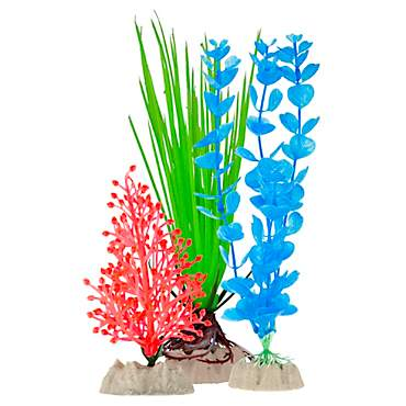 GloFish Multi-Pack Plants