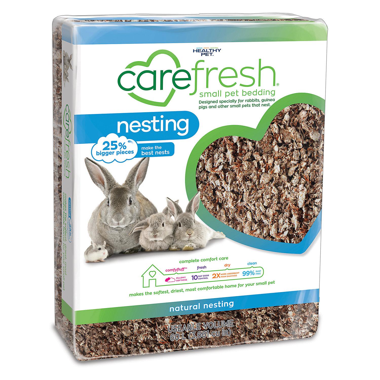 Carefresh Custom Guinea Pig Rabbit Natural Bedding 60 Liters