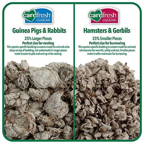 Carefresh Custom Hamster & Gerbil Natural Bedding, 14 liters