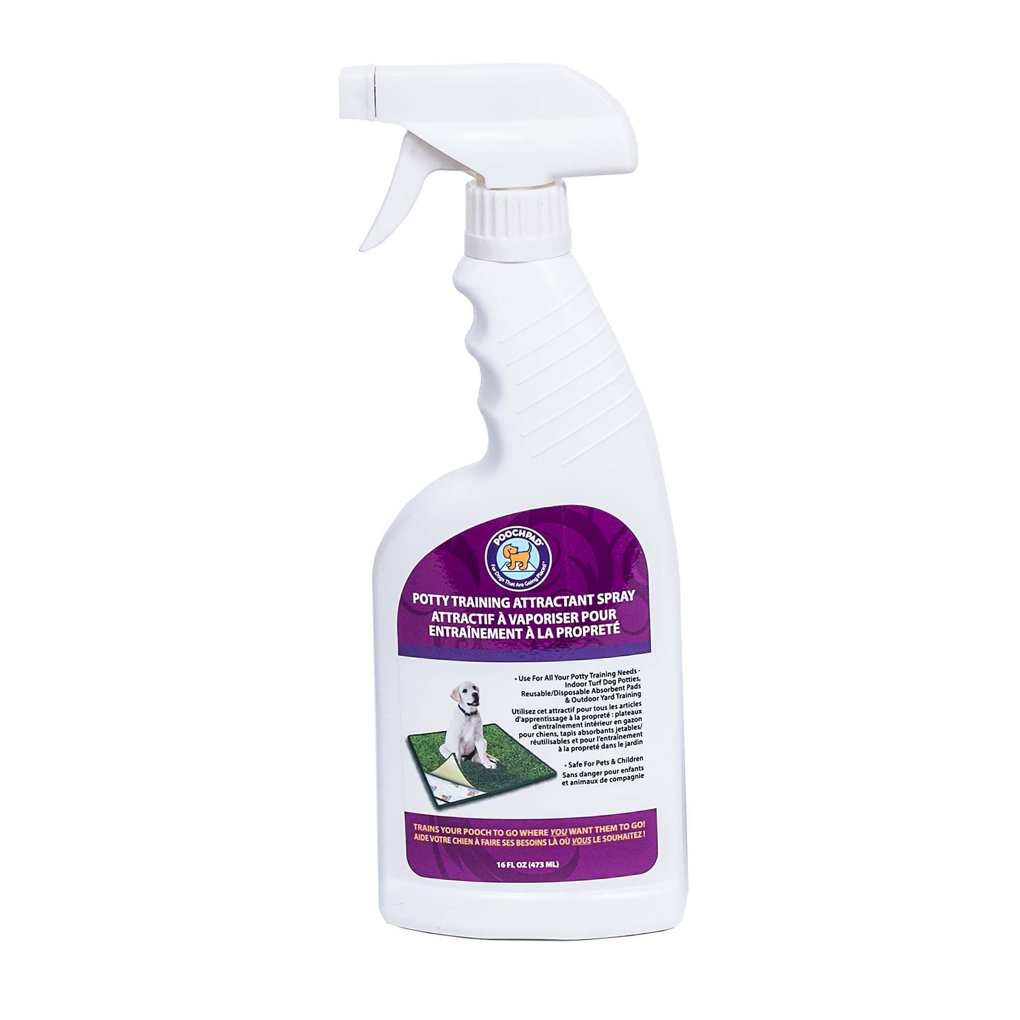 dog potty training spray reviews