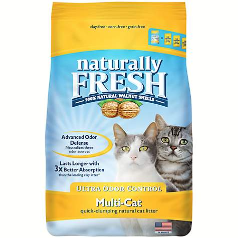 Eco-Shell Naturally Fresh Ultra Odor Control Multi-Cat Formula Cat Litter