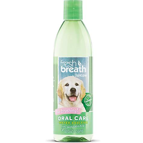 TropiClean Fresh Breath Oral Care Puppy Water Additive