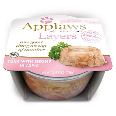 Applaws Tuna with Shrimp Layers Grain Free Cat Food