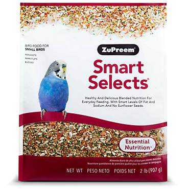 ZuPreem Smart Selects Blend Parakeets, 2lbs.