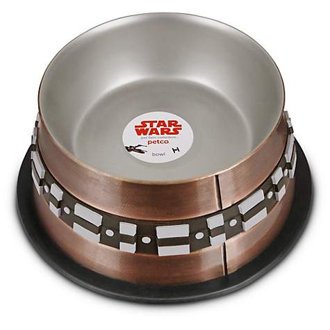 Star Wars Chewbacca Stainless Steel Dog Bowl