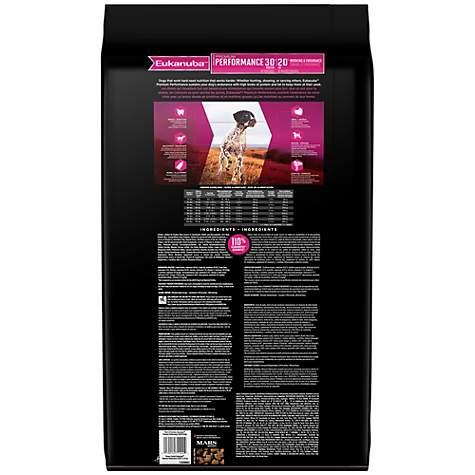 Eukanuba Premium Performance 30/20 Adult Dog Food, 29 lbs