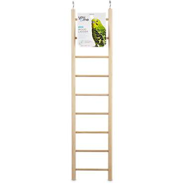 You & Me Bird 9-Step Wood Bird Ladder
