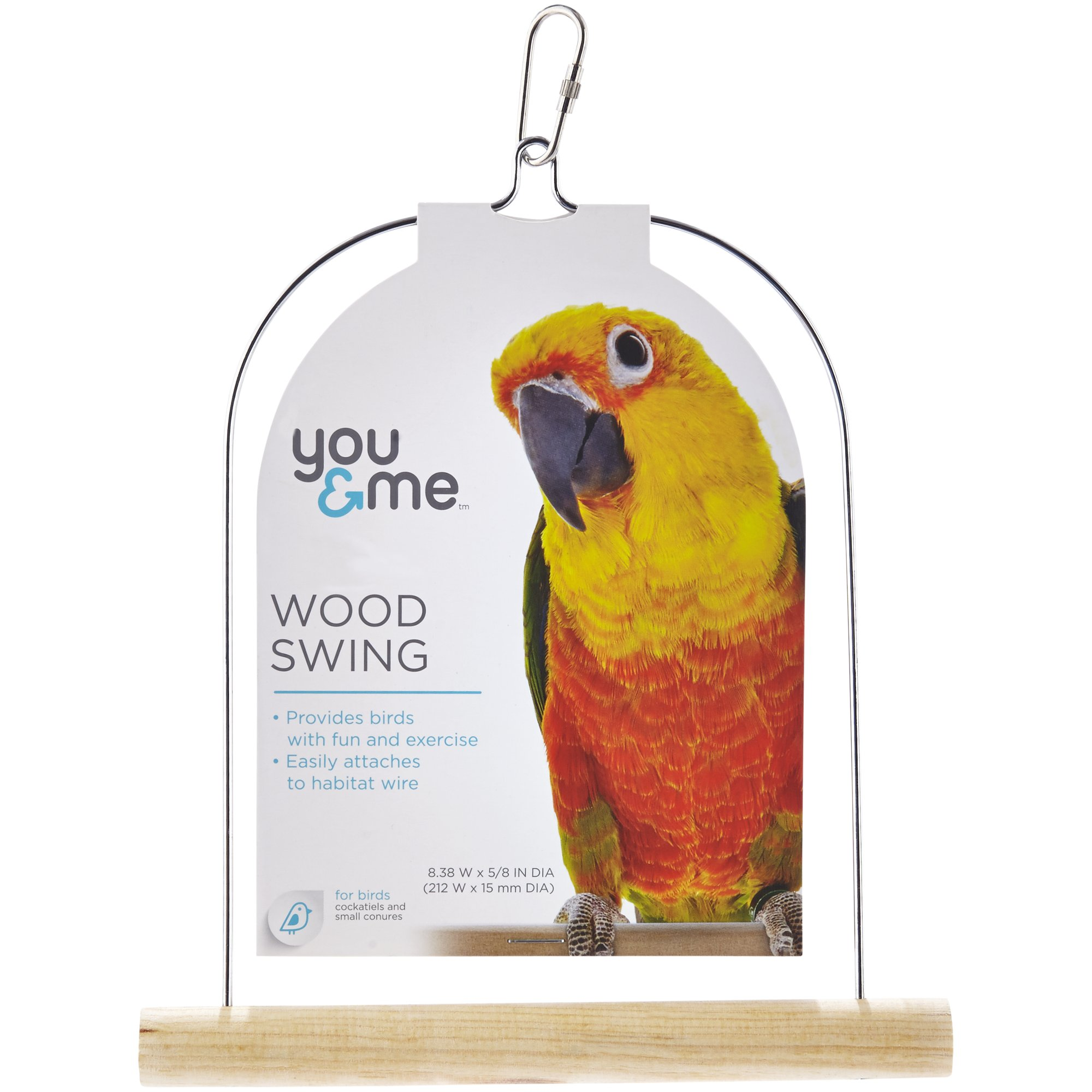 You me wood bird swing petco for Feeder fish petco