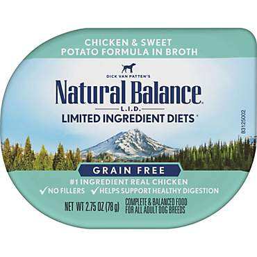 Natural Balance L.I.D. Limited Ingredient Diets Chicken & Sweet Potato in Broth Adult Dog Food