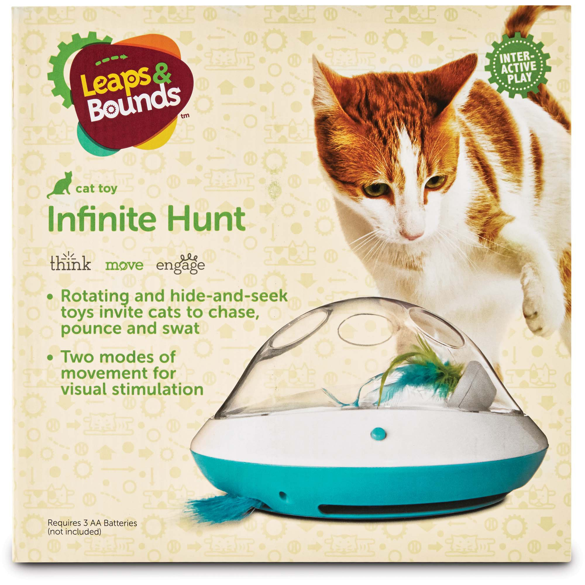 Leaps & Bounds Electric Play Dome for Cats