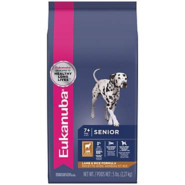 Eukanuba Senior Maintenance Lamb & Rice Dry Dog Food