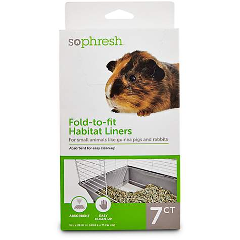 So Phresh 7 Pack Small Animal Habitat Liners