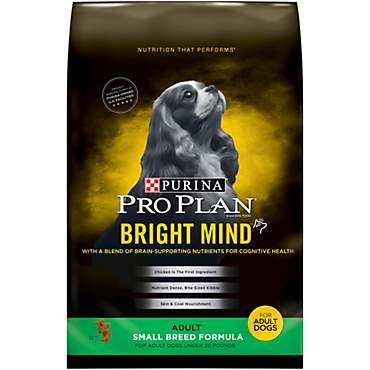 Pro Plan Bright Mind Small Breed Formula Adult Dry Dog Food