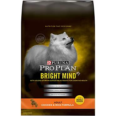 Purina Pro Plan Bright Mind Chicken & Rice Formula Adult Dry Dog Food